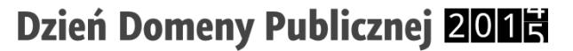 Logo Dnia Domeny Publicznej.