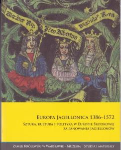 Okładka książki Europa Jagellonica.